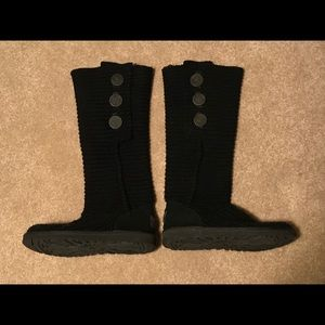 UGG Classic Cardy Knit Boot- Size 8